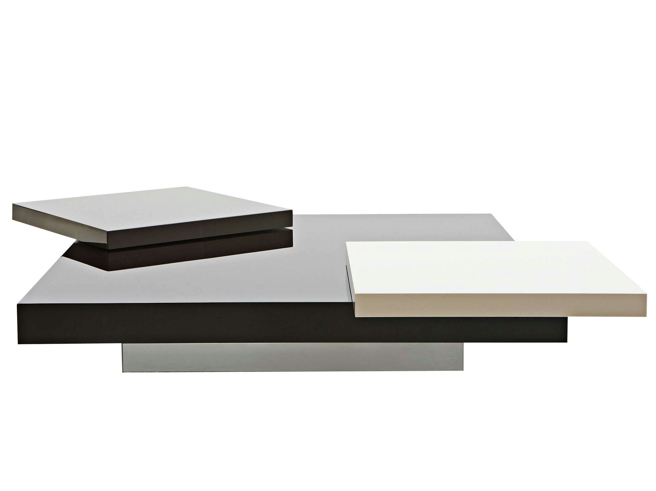 Low square coffee table PODIUM - ROCHE BOBOIS | Table basse ...