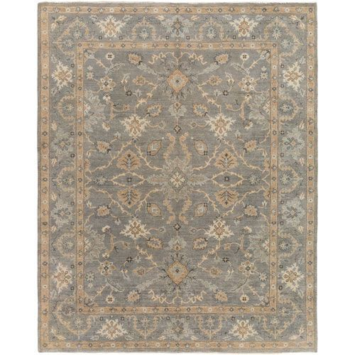 Alanya Gray Rectangular: 4 Ft. x 6 Ft. Rug - (In No Image Available)
