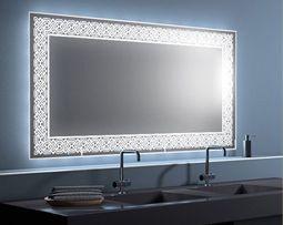 Badspiegel Online Auf Mass Bestellen Mit Led Beleuchtung Halogen Oder Neon  Beleuchtung. Jetzt Online Badspiegel Nach Maß Konfigurieren.