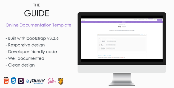 TheGuide - Online Documentation Template . TheGuide is a powerful ...