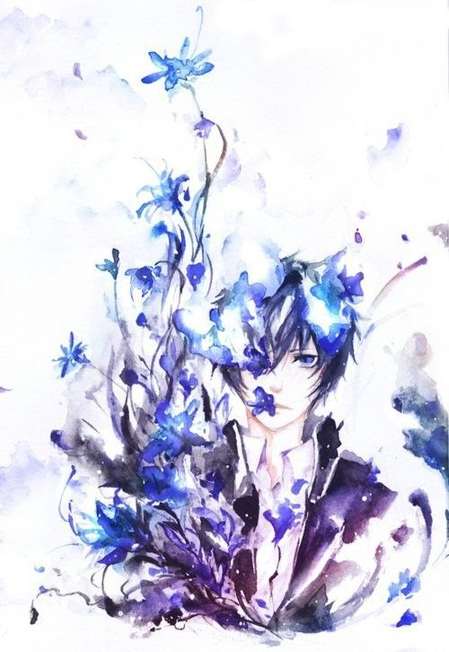 I wanna say Rin but he kinda looks like Yukio also... Eh?