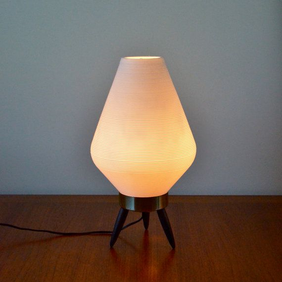 Vintage White Plastic Beehive Warm Glow Lamp By NewSwedenVintage