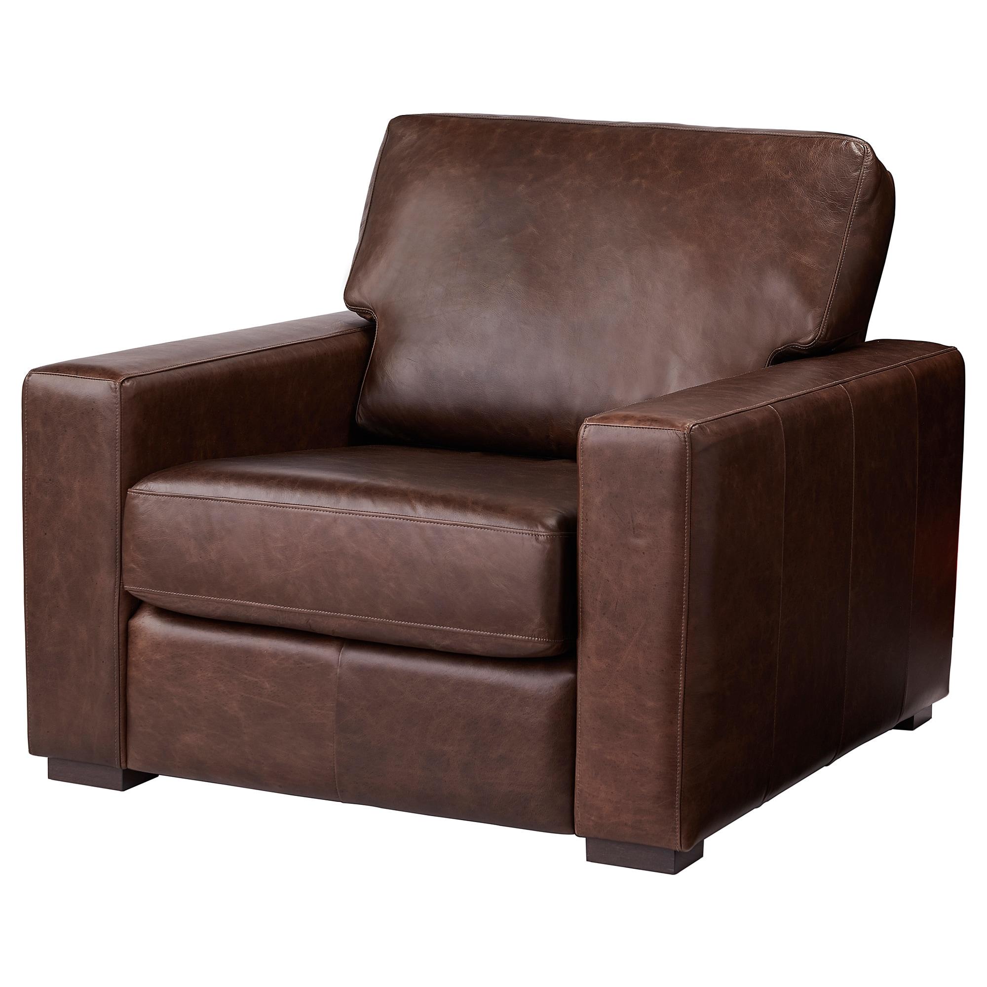 GENEVAD Armchair - Garlinge dark brown in 2019 | Ikea ...