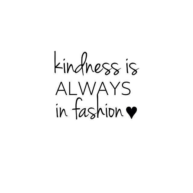 """""""It's cool to be kind! We are so grateful to have so many kind hearted followers, customers, stockists & friends ❤️"""""""