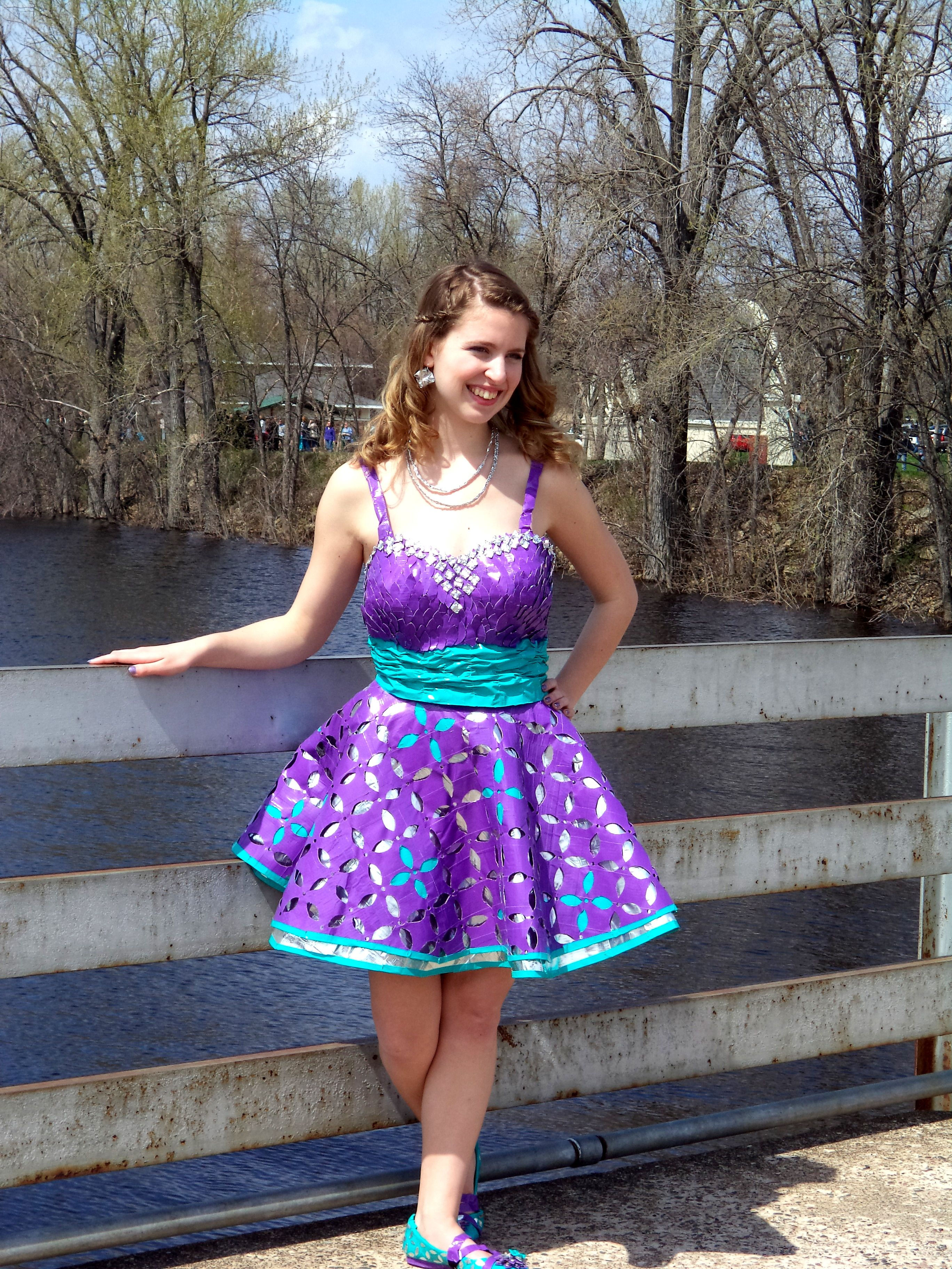 that\'s gonna be My duct tape prom dress   duck tape stuff ...