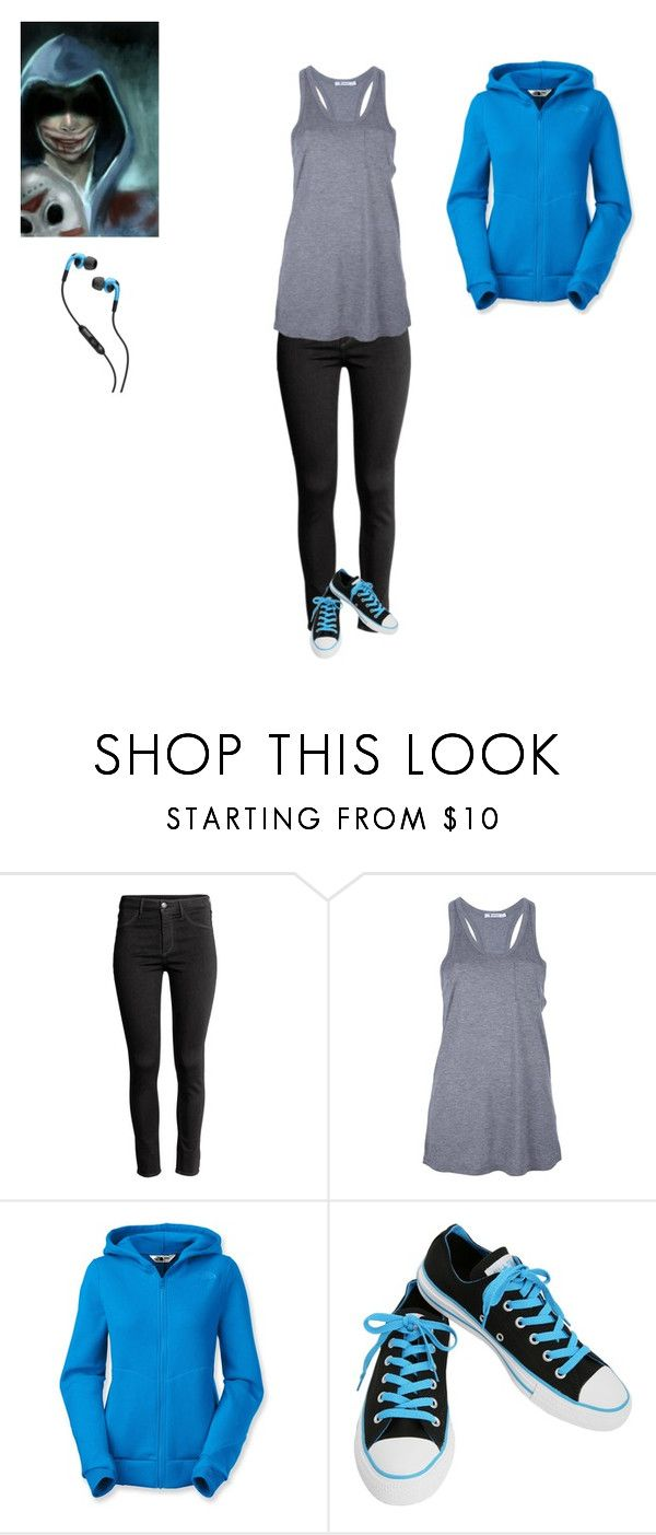 """""""Jonathan \ delirious"""" by septicplier-mangle ❤ liked on Polyvore featuring H&M, T By Alexander Wang, The North Face, Converse, Skullcandy, men's fashion and menswear"""