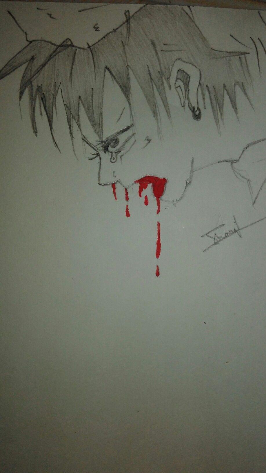 Sad boy sketch su