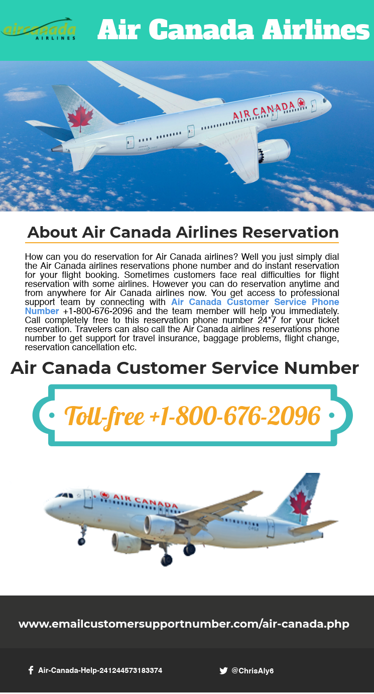 Contact Us for help regarding Air Canada Airlines