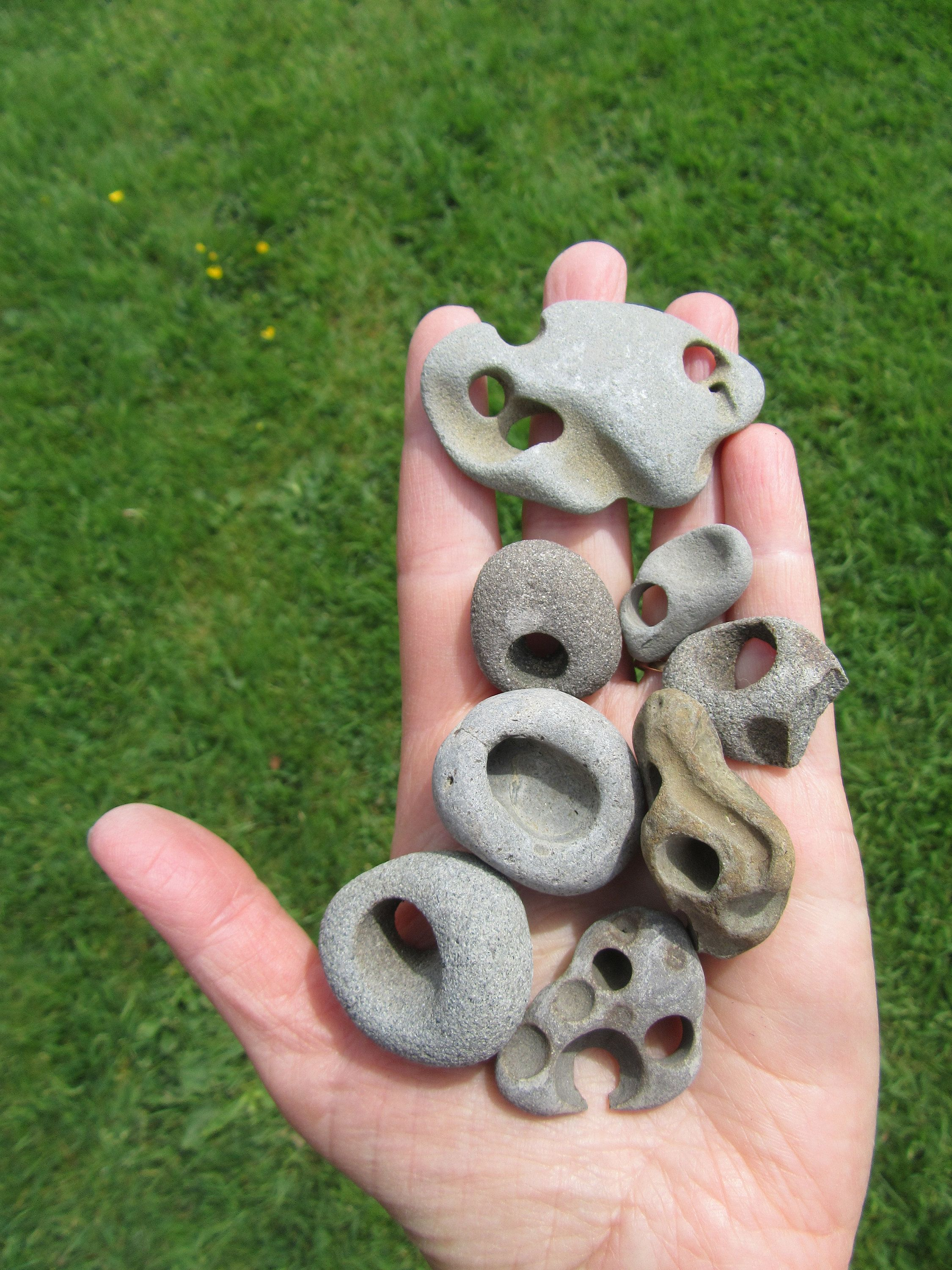 Holey Rocks For Necklace Pendants 10 Rocks 2 Inches And Under Hag Stone Necklace Pendants Use For Your Aquarium Rock Crafts Stone Wrapping Hag Stones Free delivery and returns on ebay plus items for plus members. holey rocks for necklace pendants 10