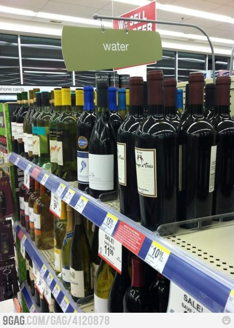 Looks like Jesus was at the supermarket  again