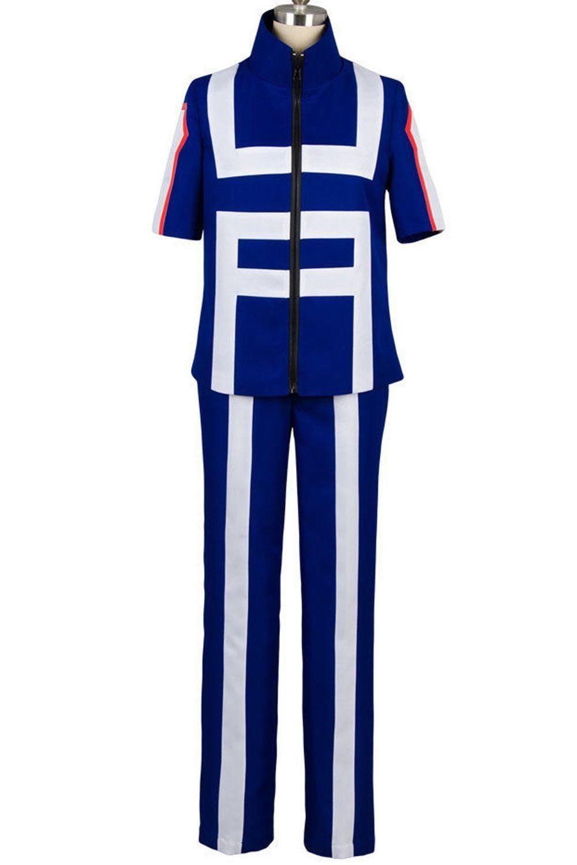 My Boku no Hero Academia Izuku Midoriya Training Suit Uniform Cosplay Costume