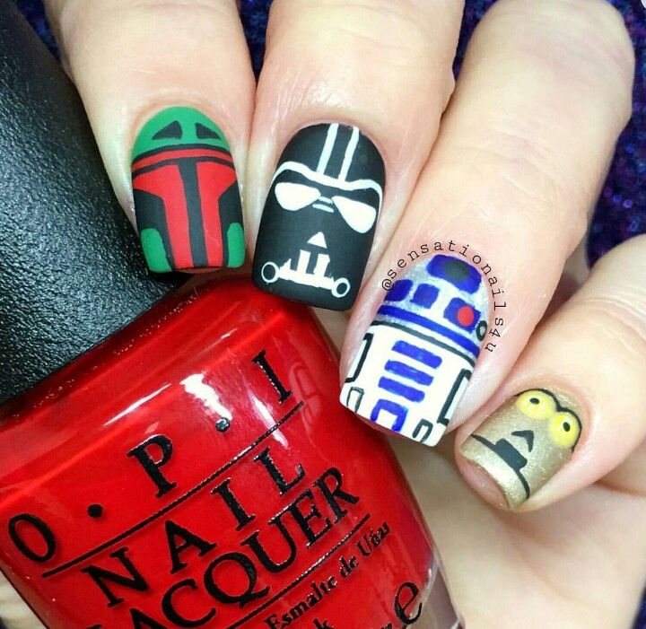 Pin by Gina Villecco on The Big Book of Nail Art | Pinterest