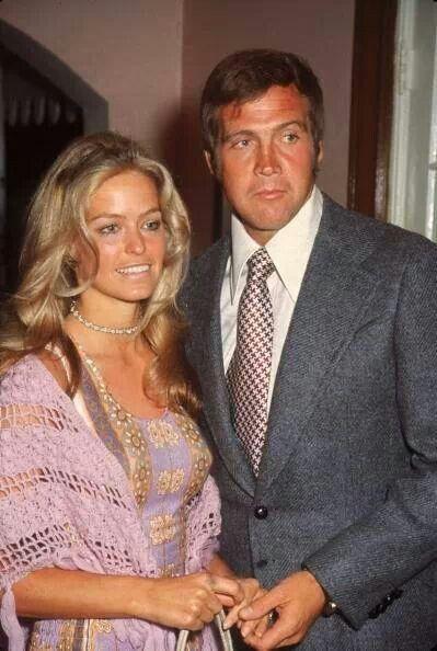 farrah fawcett and lee majors abc 1971 celebrities pinterest couples c l bres c l brit s. Black Bedroom Furniture Sets. Home Design Ideas