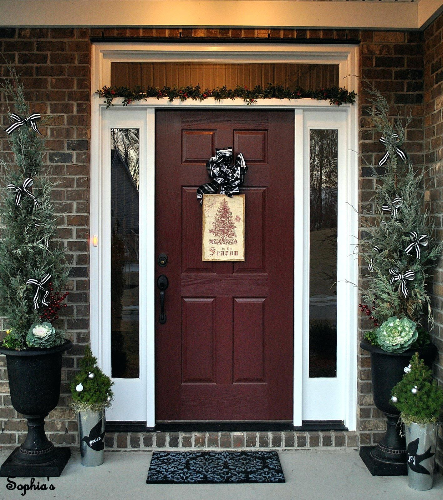 Best Color For Front Door On Red Brick House B77d On Wow ... on Garage Door Color Ideas  id=35020