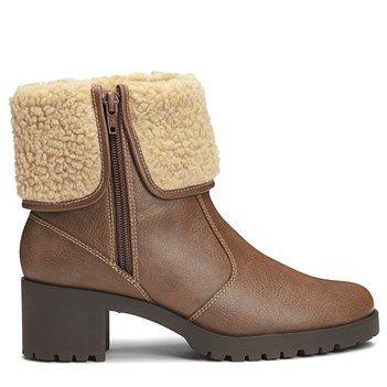 Womens Boots Aerosoles Boldness Light Brown Combo