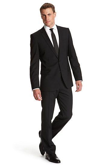 slim fit 39 amaro heise 39 suit by hugo model amaro heise. Black Bedroom Furniture Sets. Home Design Ideas
