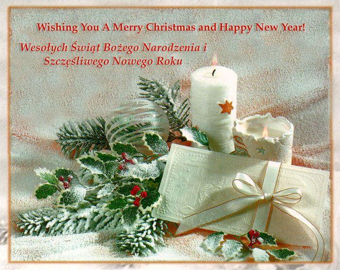 Polish Christmas Traditions Wesolych Swiat. Oplatek one