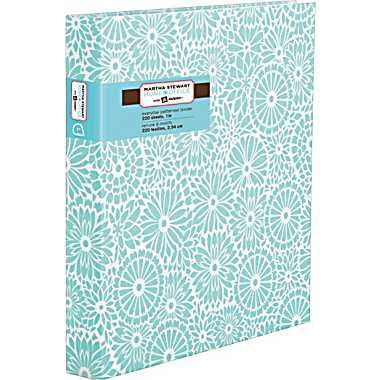 6 staples martha stewart home office with avery 1in heavy paper