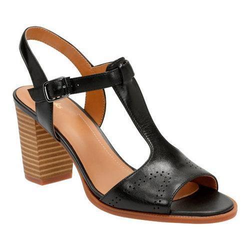 c7de4d62cf10 Women s Clarks Ciera Glass T Strap Sandal Full Grain