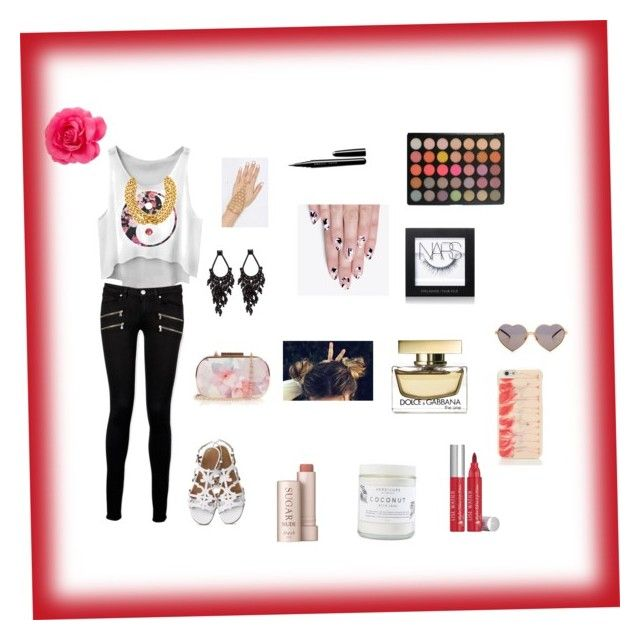 Ying-Yang by nyajazmin on Polyvore featuring polyvore, fashion, style, Paige Denim, Kate Spade, Oasis, Ben-Amun, Wildfox, NARS Cosmetics, Lise Watier, Marc, Fresh and alfa.K