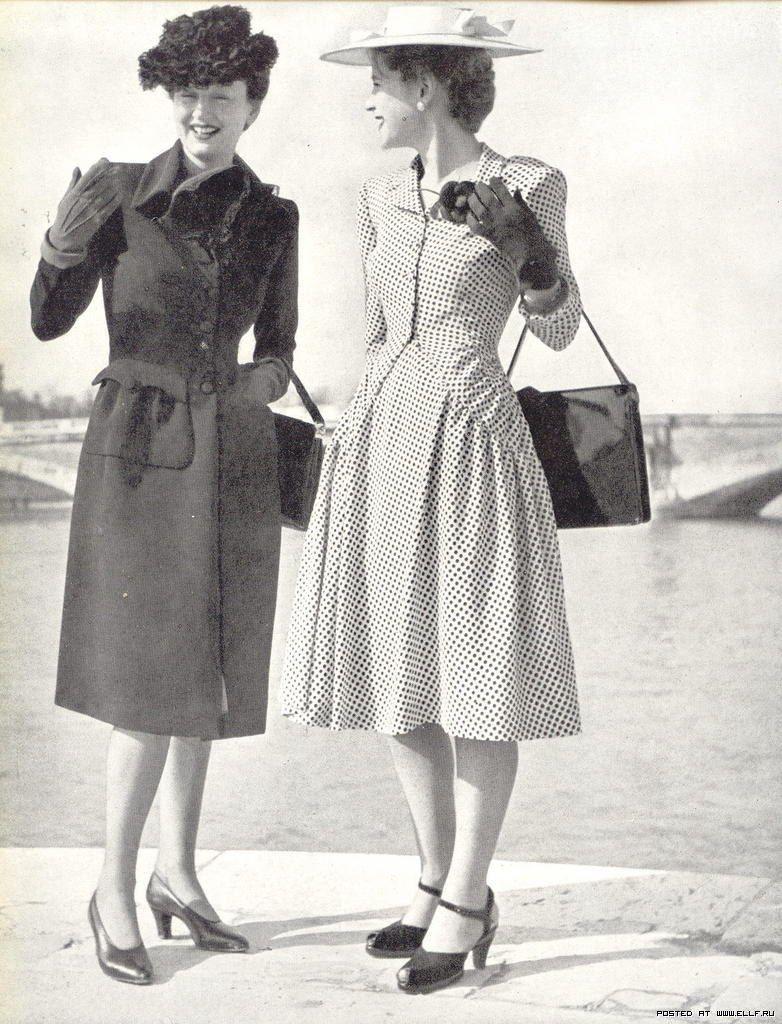 Fashion Flashback Wwii Women S Fashion: 1940s Day Wear