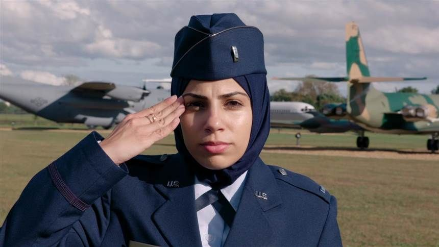 Becoming the first to wear hijab in the Air Force   amazon