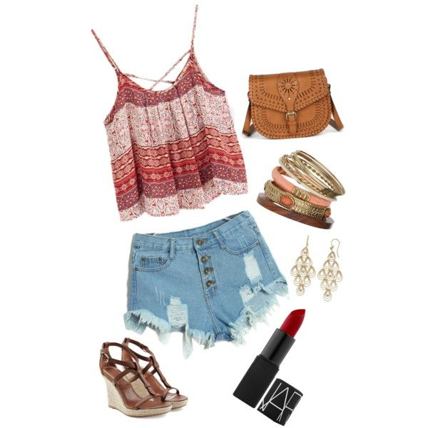 Summer by eekoestler on Polyvore featuring polyvore, fashion, style, Burberry, Sole Society, Roberto Coin and Wallis