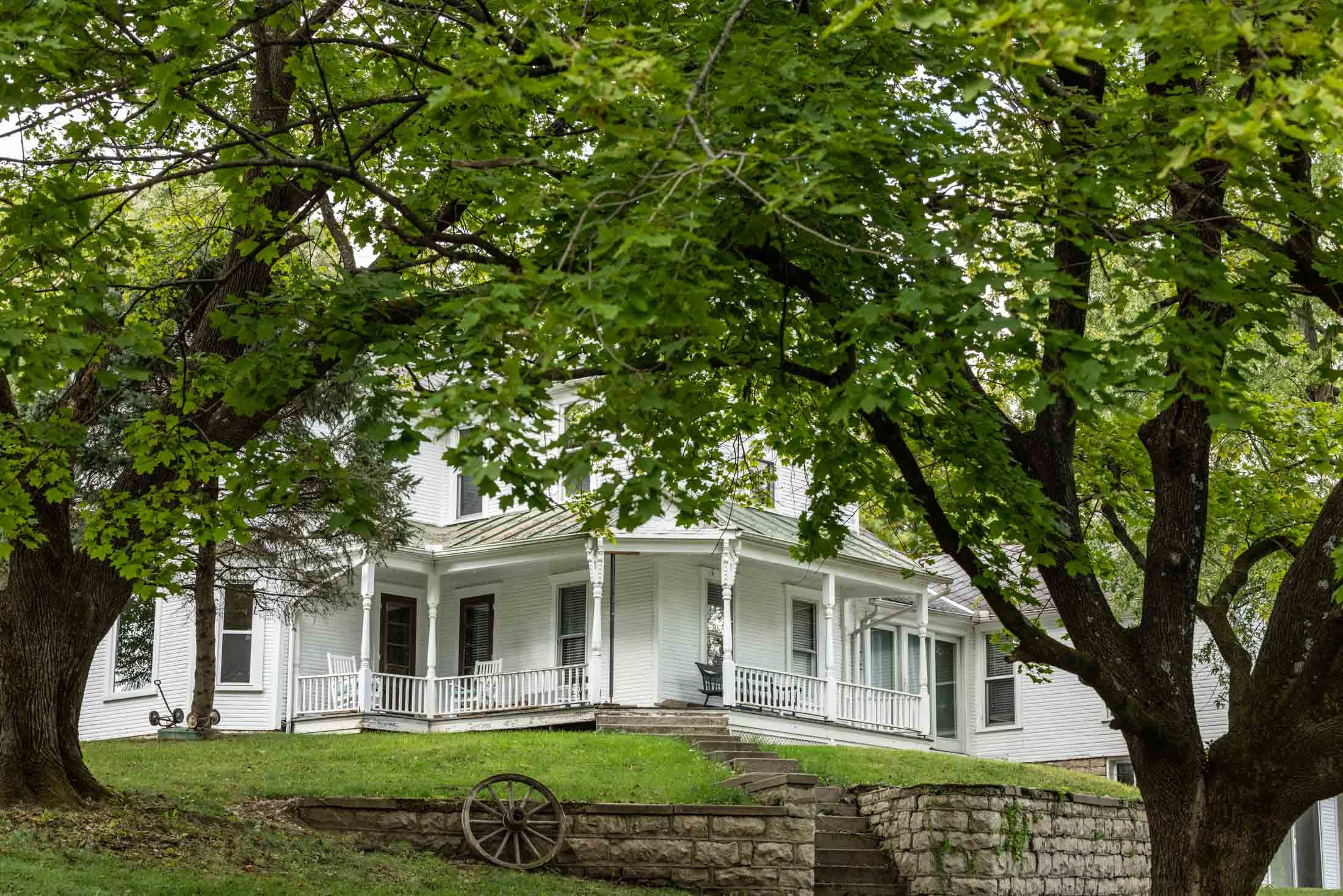 The property doubles as a bed and breakfast with rooms in ...