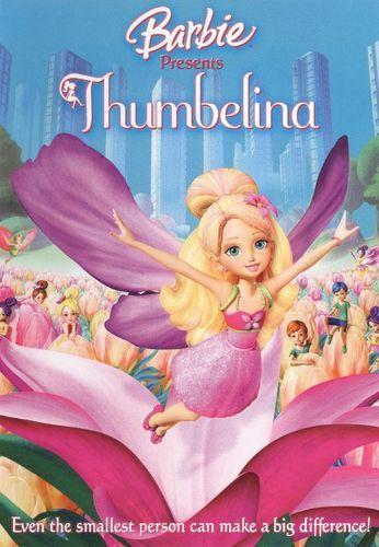 Barbie Presents Thumbelina Dvd 2009 Em 2019 Barbie Filmes