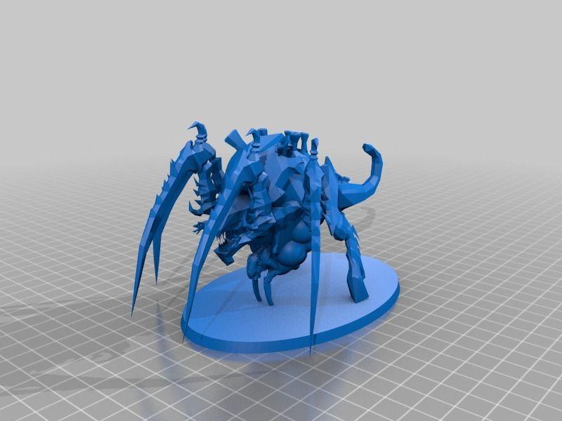 Tyranid Tervigon by Garin - Thingiverse | 3D printing | Tyranids, 3d