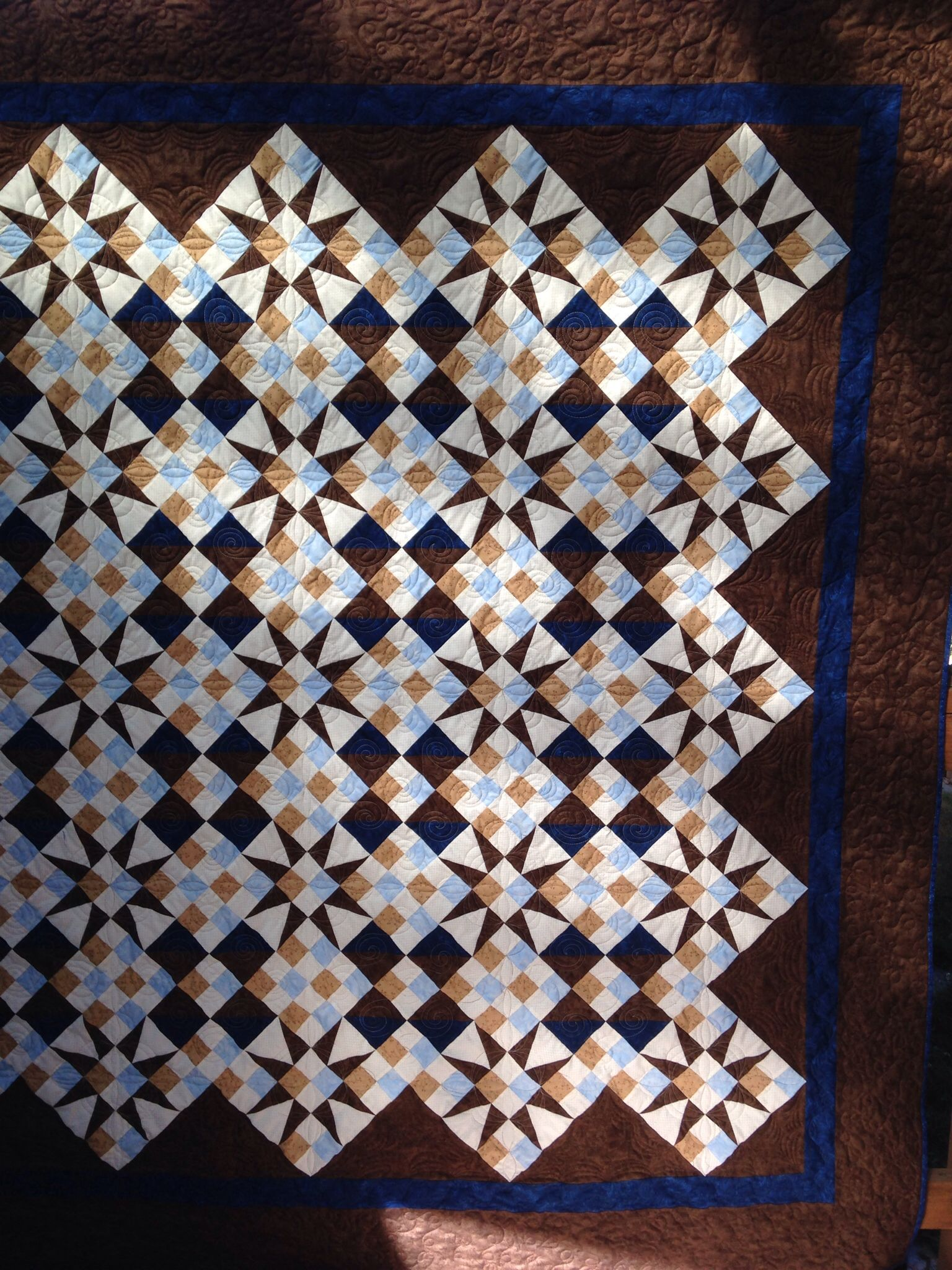 Cathedral Window Quilt - My Patterns Free
