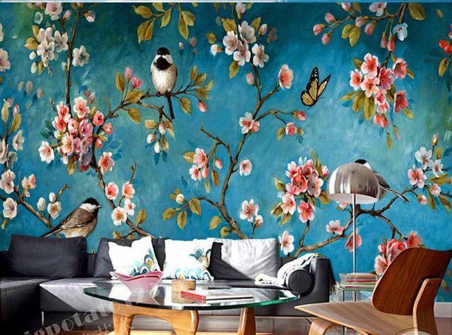 Online Shop Iç Duvar Duvar Kağıdı Erik çiçeği şeftali Elma çiçeği