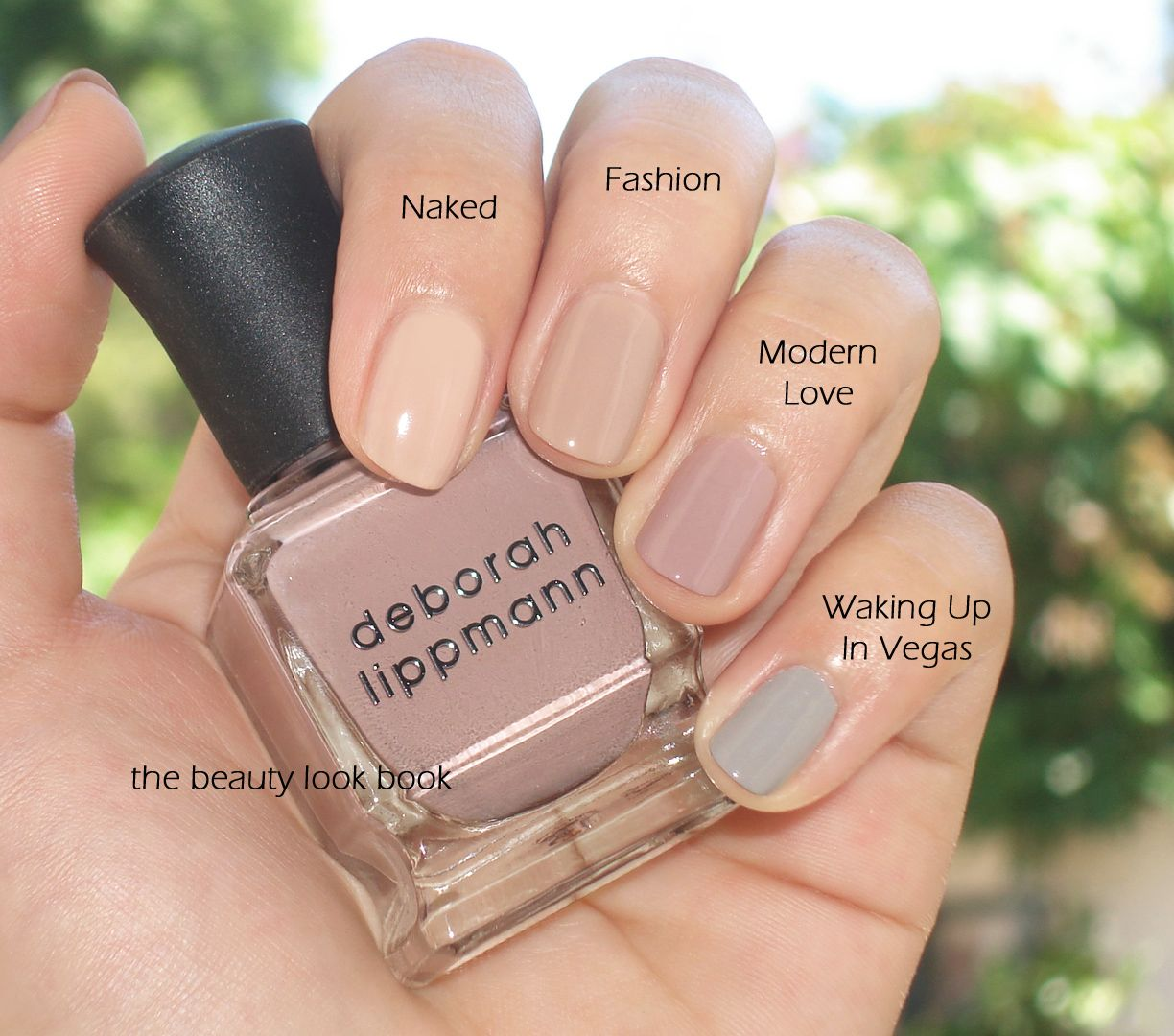 Deborah Lippmann\'s latest release for fall is a mauve shade called ...