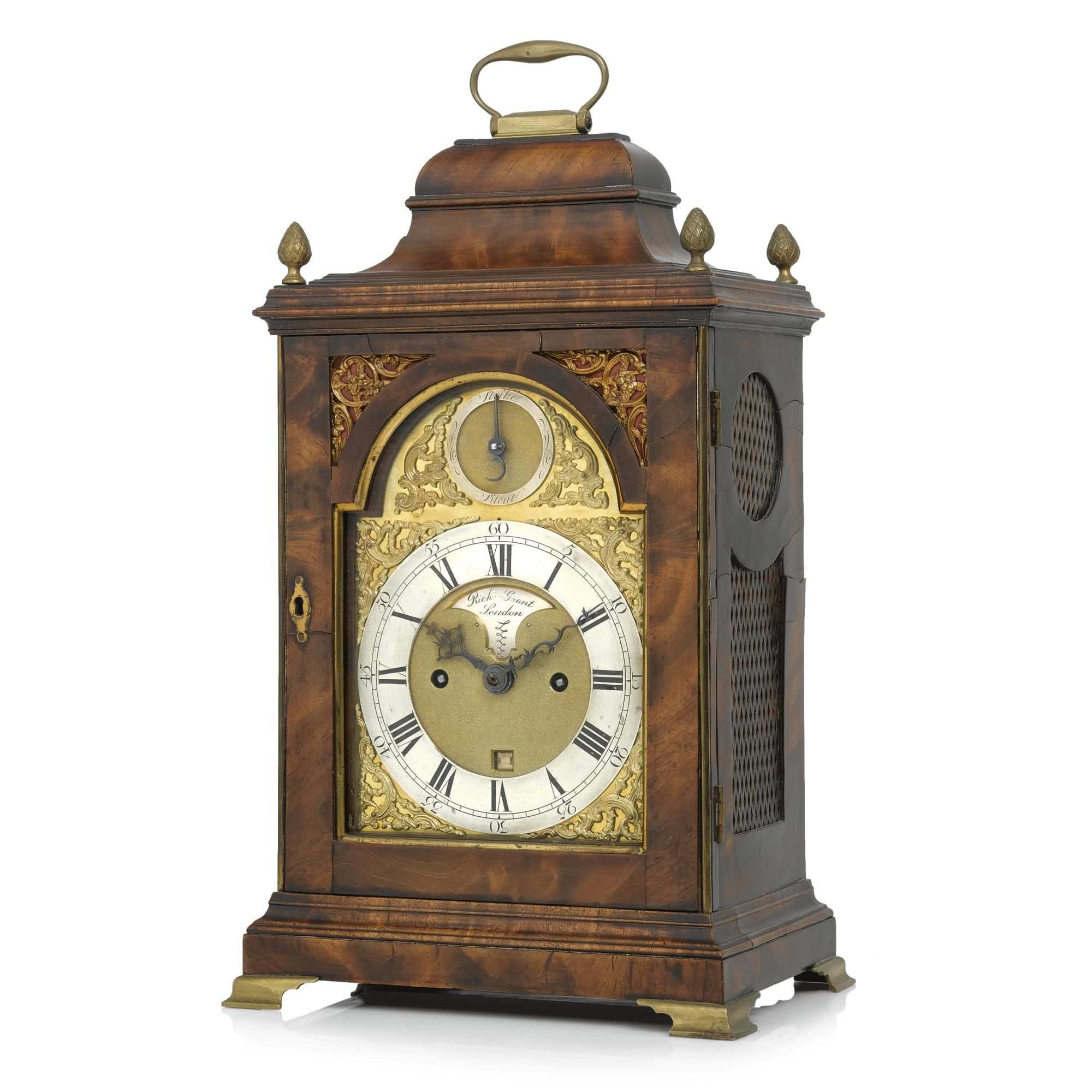 mudgeduttontable clocks product watches table birch image tobias antique