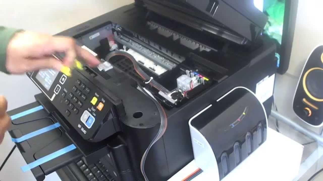 How to install CISS for Epson WF-3640 WF-3620 WF-7610 WF-7110 WF