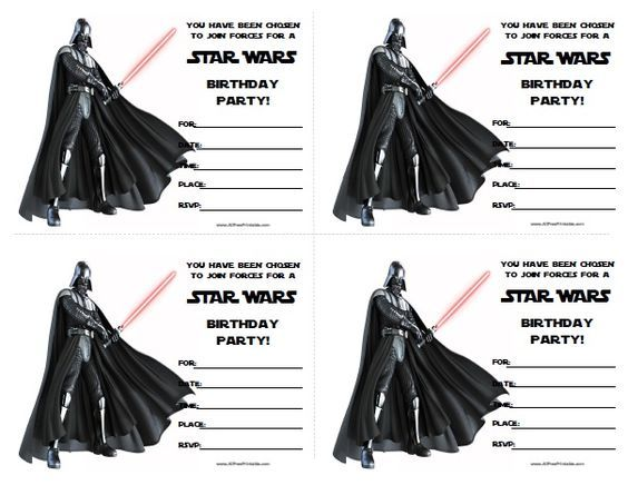 Free printable star wars birthday invitations partytjie idees free printable star wars birthday invitations filmwisefo
