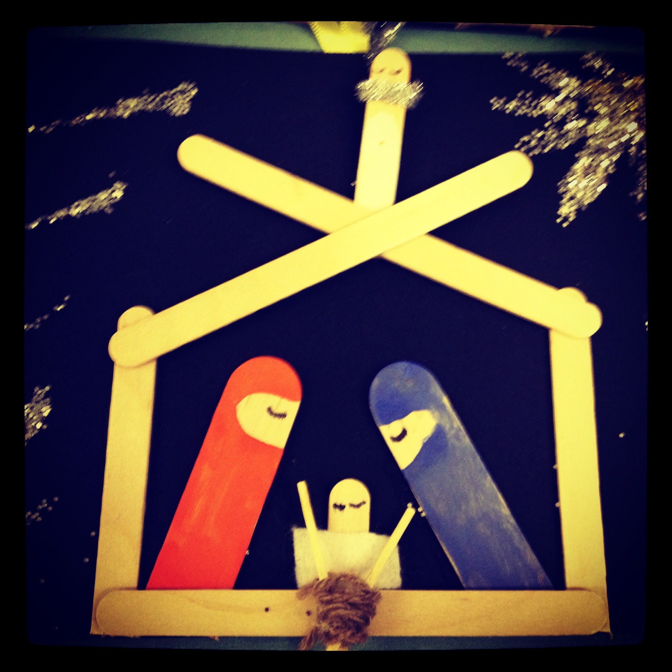 Christmas Card Making Ideas Early Years Part - 25: Christmas Card Ideas - Birth Of Baby Jesus