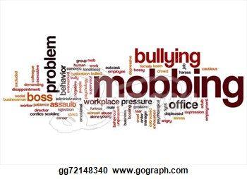 Mobbing word cloud
