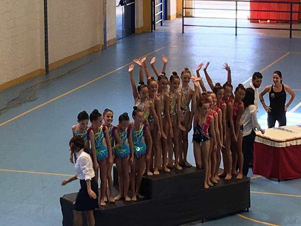 Las gimnastas del nivel Liga del Club Aceus inician temporada con magníficos resultados