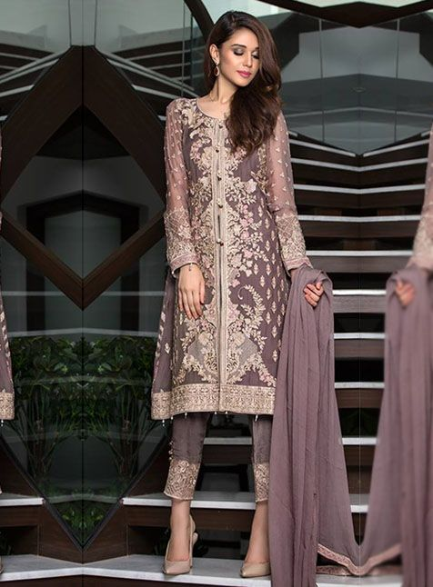 c964036eb8 JB Baroque luxury chiffon 04VOL4 Master Replica | woera | Pakistani ...