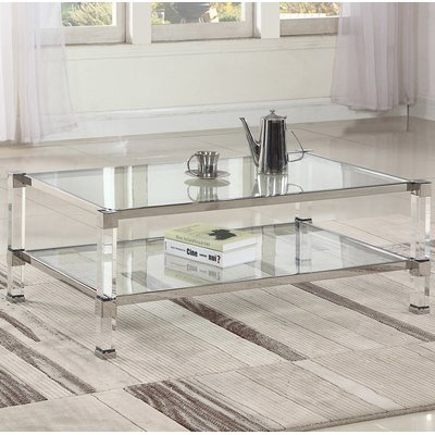 Orren Ellis Mcauley Coffee Table Coffee Table Coffee Table Setting Contemporary Coffee Table
