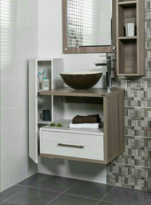 Pin de Marissa Guzman en home Pinterest Baños - muebles para baos pequeos