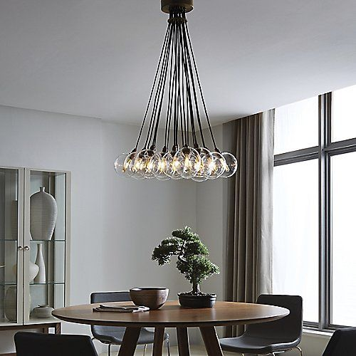 Gambit 19 Light Chandelier By Tech Lighting At Lumens Dining RoomsDining