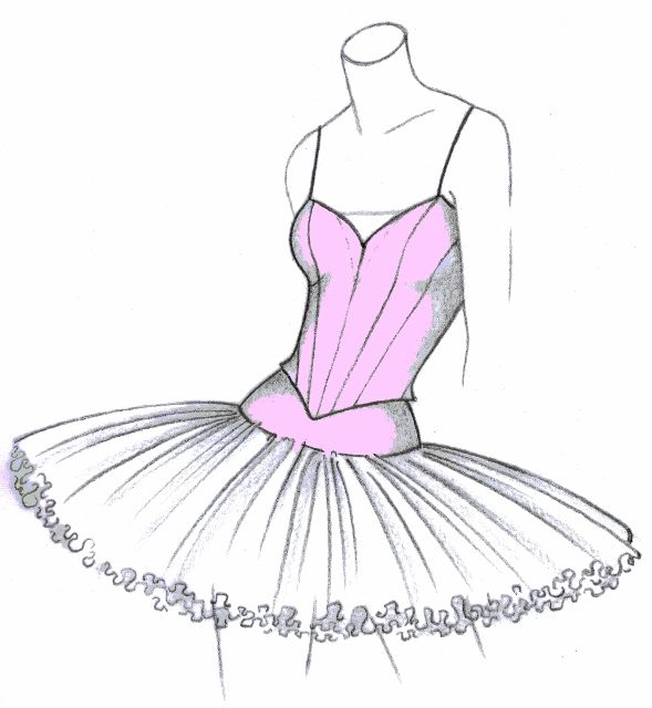 Explanation of different tutus valorose tutus and for Pin the tutu on the ballerina template