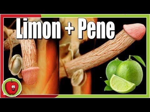 limon en el pene