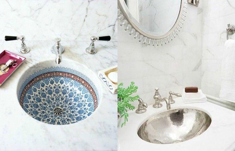 La grande tendance salle de bain sur Pinterest met l\'accent ...