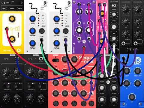 s modular semi modular synth for ipad ipad music apps blog music app reviews news and. Black Bedroom Furniture Sets. Home Design Ideas