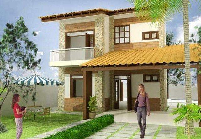 Plano de vivienda de dos plantas casa campestres mi for Planos de casas campestres de dos plantas