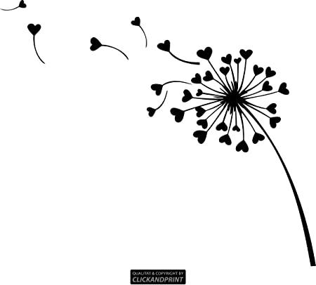 Schablone Pusteblume Make A Wish Din A4 Amazon 13