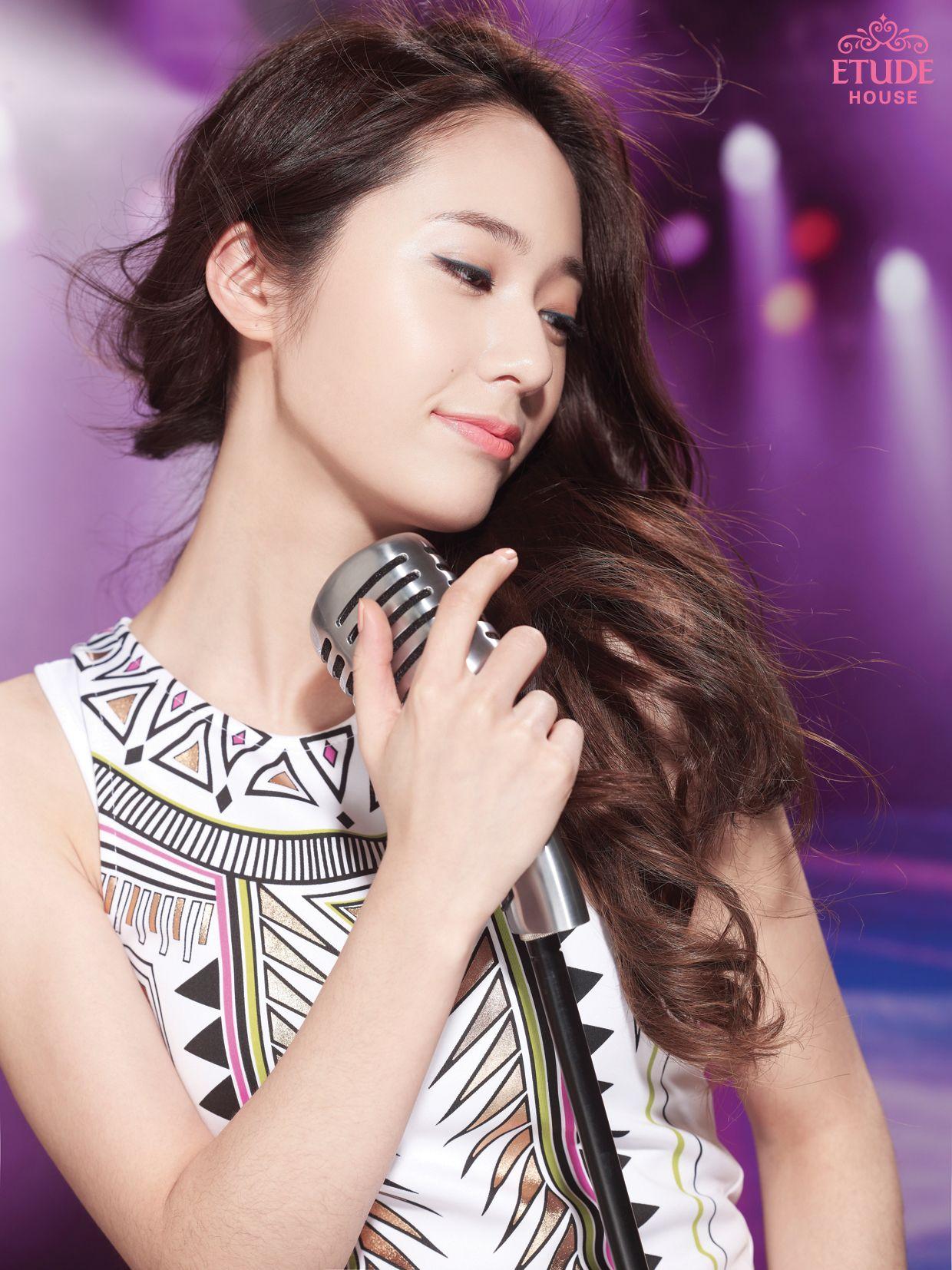Fx Krystal Etude House While Singing Look